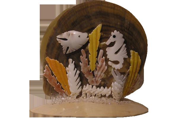 Πετσετοθηκη Μ.Ο.Ρ Βυθός Ψάρι-Ιππόκαμπος