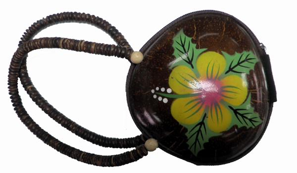 Τσάντα από καρύδα με χερούλι